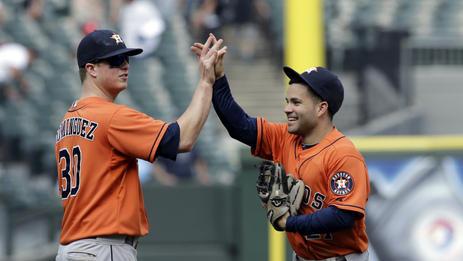 Dominguez has 4 RBIs; Astros beat White Sox 11-7