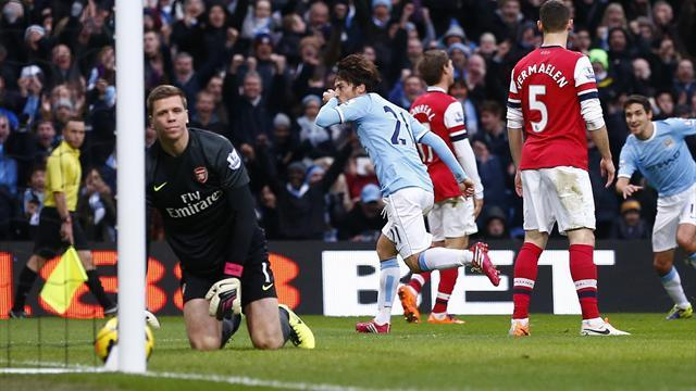 Premier League - Manchester City humble Arsenal in nine-goal thriller
