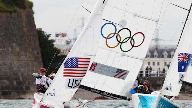 Olympics Day 3 - Sailing - Women's Elliott 6m WMR