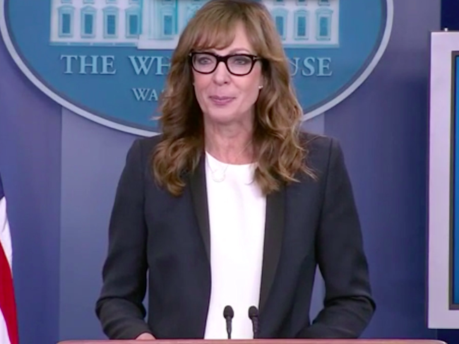 Allison Janney revived her 'West Wing' character to fill ...