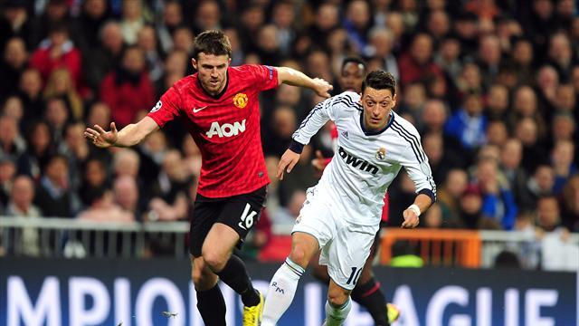 Champions League - Carrick relishing 'extra special' Madrid clash