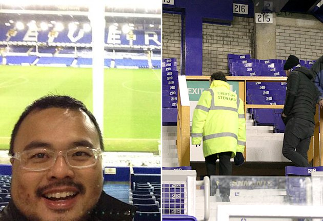 Malaysian fan's 30-year dream ruined by Everton postponement
