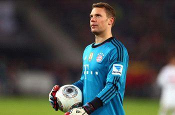 Neuer struck by calf injury