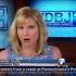 In this image made from video and provided by WDBJ-TV7 news, Kimberly McBroom, the station's morning anchor in Roanoke, Va., reacts to a live broadcast during which reporter Alison Parker and cameraman Adam Ward were fatally shot, Wednesday, Aug. 26, 2015. McBroom tried to reassure viewers immediately after the attack, carried out by Vester Lee Flanagan II, a former WDBJ-TV reporter known to viewers by his on-air name Bryce Williams. (WDBJ-TV7 news via AP)