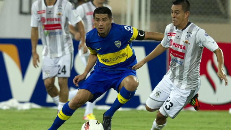 Zamora Boca Copa Libertadores 2012