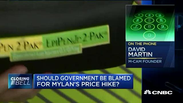 Should the government be blamed for EpiPen price hike?