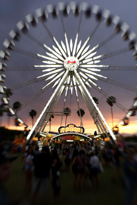 An Alternative View Of 2014 Coachella Valley Music and Arts Festival - Weekend 2 - Day 1