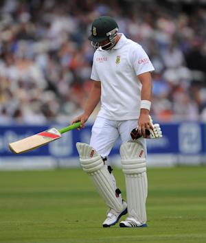 Jaques Kallis, pictured, was one of two wickets the impressive Mitchell Starc took before lunch