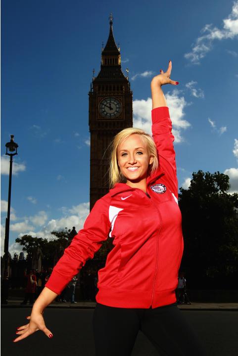 TEAM USA Britain Bound: Nastia Liukin visits London