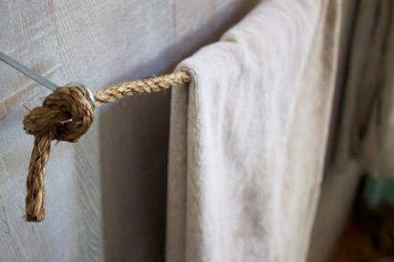 Rope Towel Bar