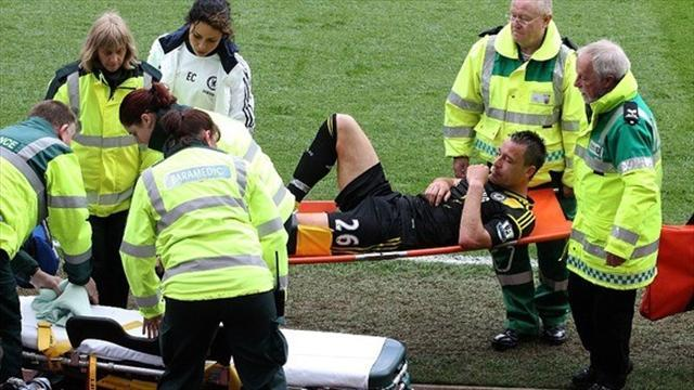 Europa League - Terry set to miss final, Hazard out
