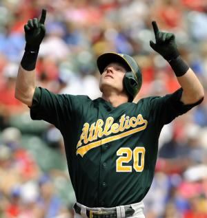 A's beat Rangers to complete big AL West sweep