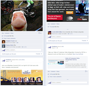 6 Reasons Why Your Company's Facebook Page is Unattractive image visual content