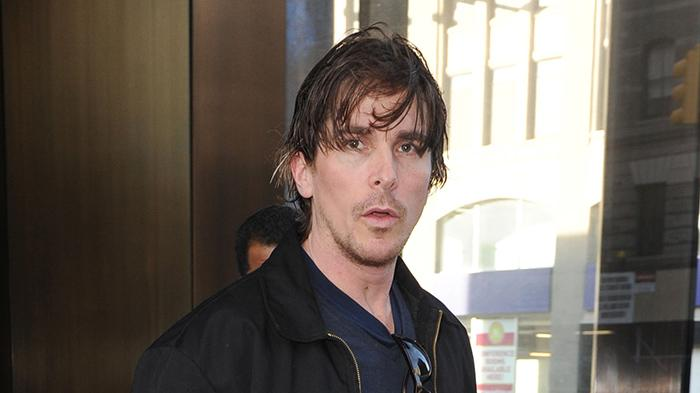 Christian Bale seen out and about in NYC