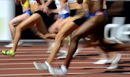 Athletes compete at the Olympic Stadium in Helsinki in 2012. As athletes get ready to smash Olympic records in London, scientists are in a high-stakes race of their own to develop a test that will unmask anyone altering their genes in a desperate quest for gold