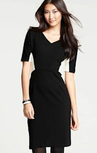 Ann Taylor holiday dress
