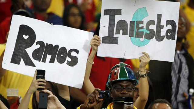 World Cup - FIFA 'to reclassify South Africa-Spain' after rules broken