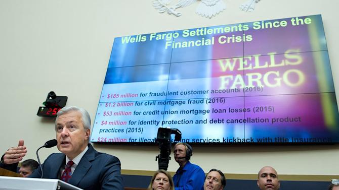 Wells Fargo CEO Stumpf Resigns Effectively Immediately Amid Scandal