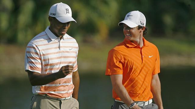 US Open Championship - Woods, McIlroy, Scott grouped together