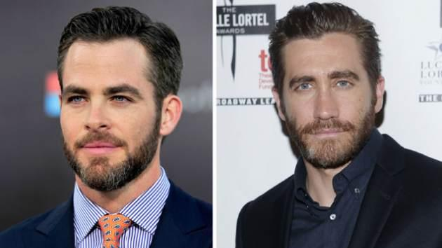 Chris Pine / Jake Gyllenhaal  -- Getty Premium