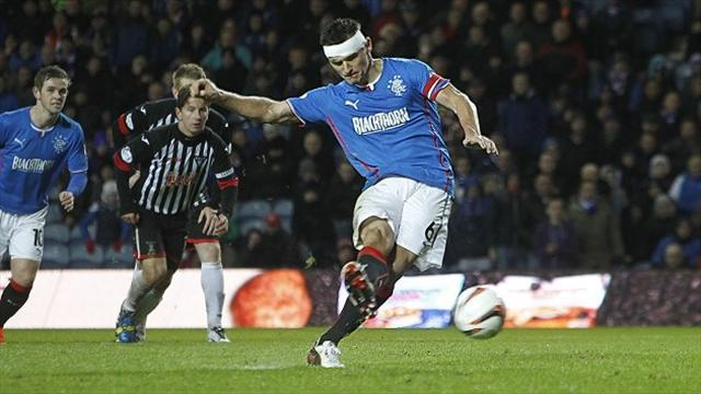 Scottish Football - Leaders Rangers extend their advantage