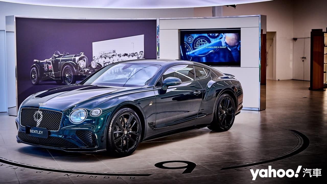 【新車圖輯】百年榮耀傳承以紀其長「九」!Bentley Continental GT Number 9百台限量絕美鑑賞!