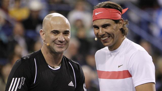 Tennis - Agassi: Nadal the best of all time, not Federer