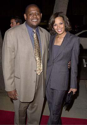 Premiere: Forest Whitaker and gal at the Beverly Hills premiere of 20th Century Fox's Men of Honor - 11/1/2000
