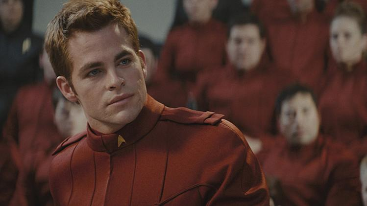 Star Trek Production Photos Paramount Pictures 2009 Chris Pine