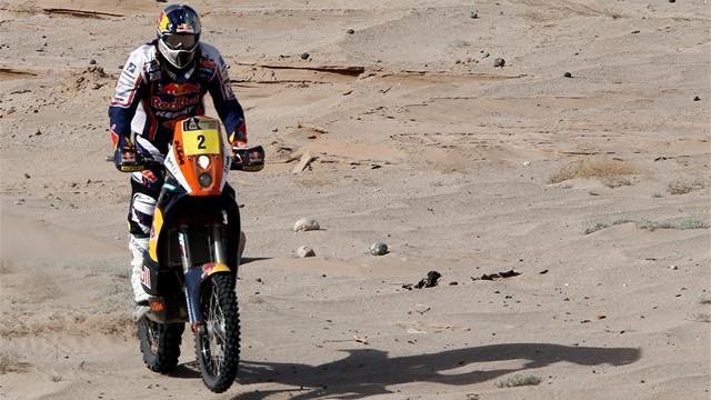 Dakar - Bikes: Despres claims stage nine victory