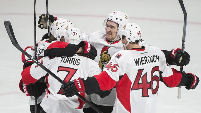 Senators beat Canadiens 5-1 to force Game 6