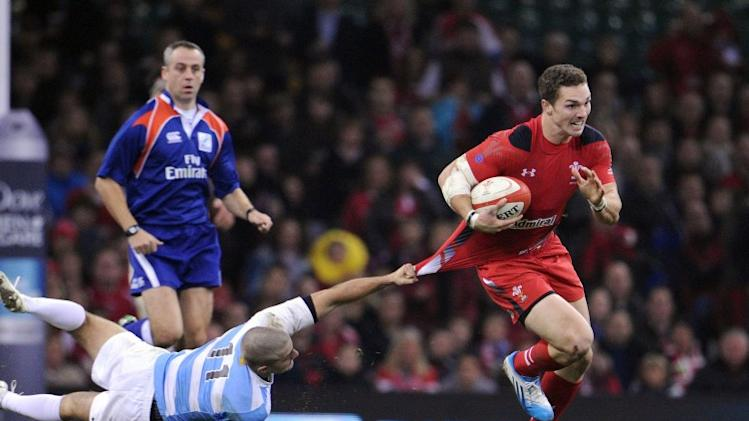 Wales wore special jerseys for former captain Matthew Rees