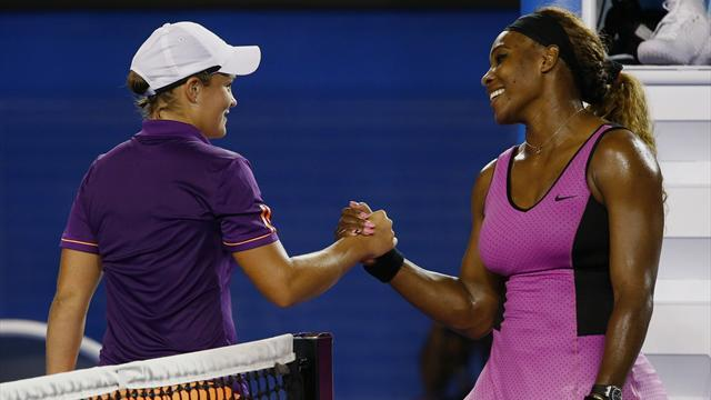 Australian Open - Serena powers to victory over plucky Barty