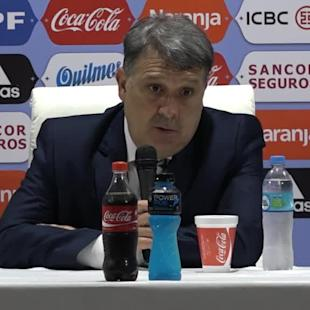 Martino pleased with Argentina improvement