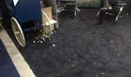 Treat a Trade Show Like Your Office, Not Your College Dorm image popcorn on black carpet 2