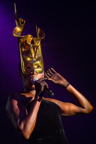 Grace Jones Brings 'Hurricane' to New York