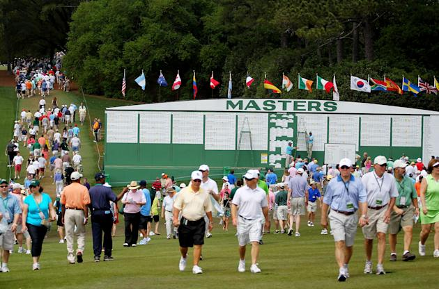 The Masters - Round Three