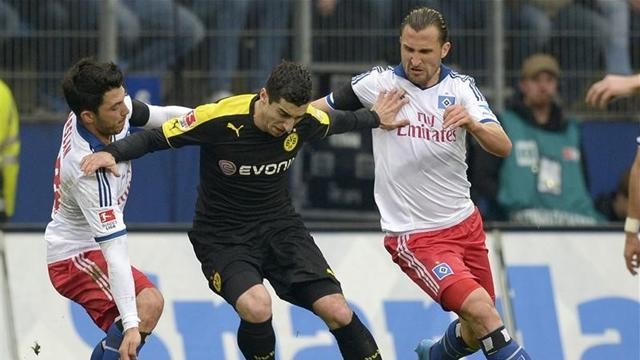 Bundesliga - Hamburg end seven-match losing run on Slomka's debut