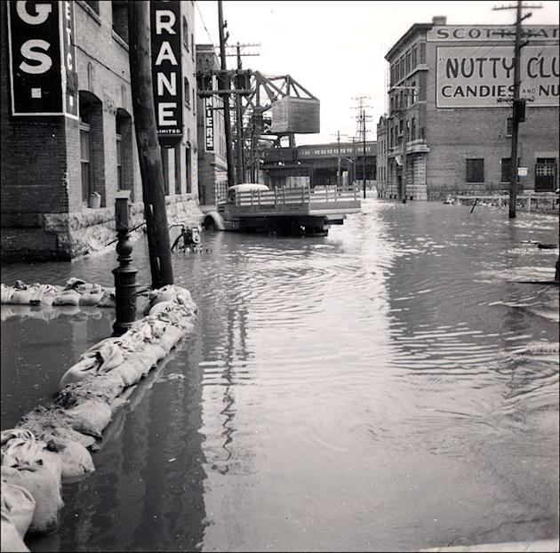 Worst floods in Canadian history