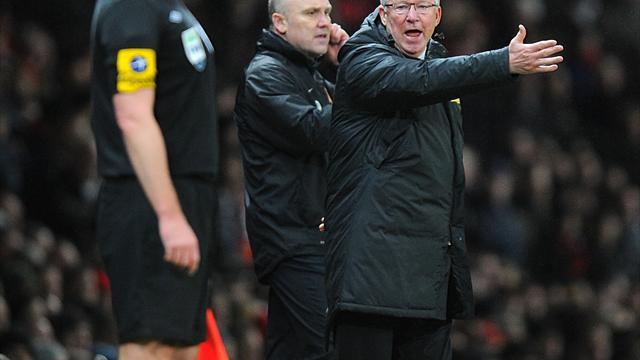 Football - Fergie fury over Evans own-goal decision