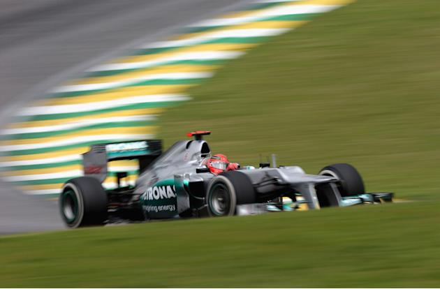 F1 Grand Prix of Brazil - Qualifying