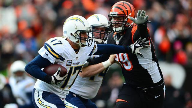 NFL - Chargers jolt mistake prone Bengals for wild card win