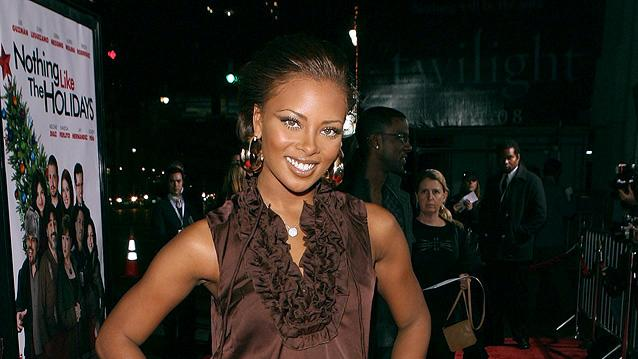 Nothing Like the Holidays LA Premiere 2008 Eva Pigford