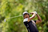 Filipino Juvic Pagunsan, seen here in June 2012, the number one player on the Asian Tour, hopes his decision to travel alone for his major debut will reap rewards when the 141st British Open starts