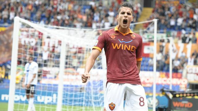 Roma clinch first home win, Juve win again