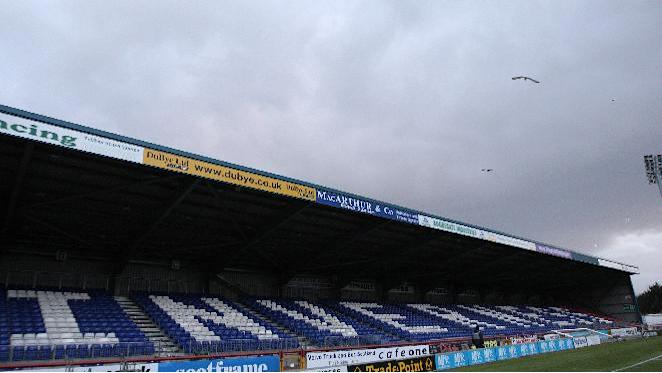 The clash between Inverness and Ross County has been moved