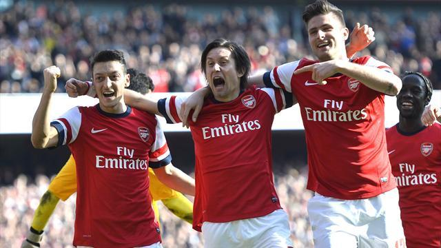 Premier League - Arsenal v West Ham United: LIVE