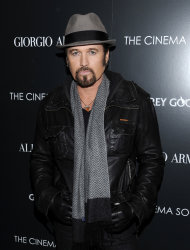 "FILE - This Dec. 13, 2011 file photo shows singer Billy Ray Cyrus attending a special screening of ""Albert Nobbs"" at the Museum of Modern Art in New York. Cyrus is making his Broadway debut in ""Chicago."" The singer of ""Achy Breaky Heart"" and father of Miley Cyrus is detouring from his Nashville roots in taking on the role of criminal lawyer Billy Flynn for a seven-week engagement beginning Nov. 5. (AP Photo/Evan Agostini, file)"