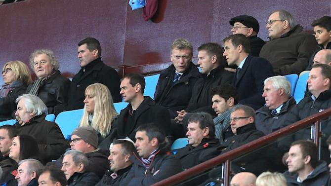 Roy Keane is at Villa Park today