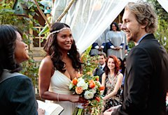 Joy Bryant and Dax Shepherd, Parenthood | Photo Credits: Chris Haston/NBC
